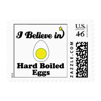 i believe in hard boiled eggs stamps