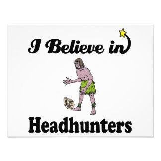 i believe in headhunters custom announcements