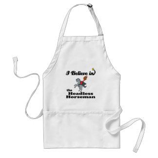i believe in headless horseman apron