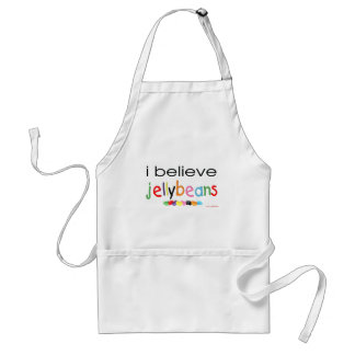 I believe in Jelly Beans Adult Apron