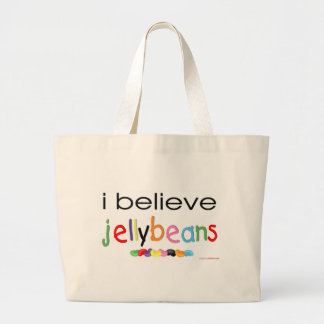 I believe in Jelly Beans Tote Bags