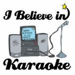 i believe in karaoke photo cutout