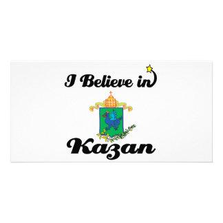 i believe in kazan photo card
