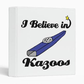 i believe in kazoos binder