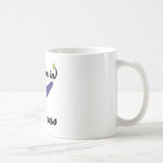 i believe in kazoos classic white coffee mug