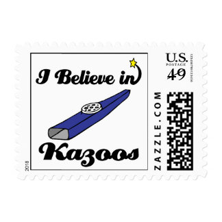 i believe in kazoos postage