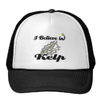 i believe in kelp mesh hats