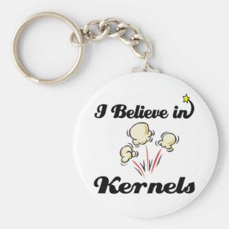 i believe in kernels keychain