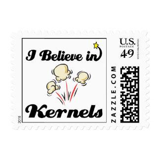 i believe in kernels stamp