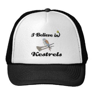 i believe in kestrels mesh hats
