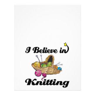 i believe in knitting flyer