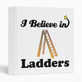 i believe in ladders 3 ring binder