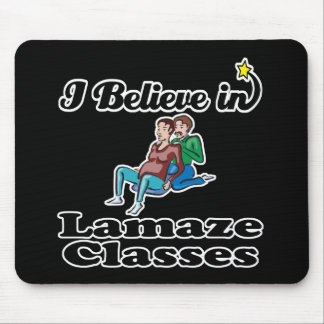 i believe in lamaze classes mouse pad