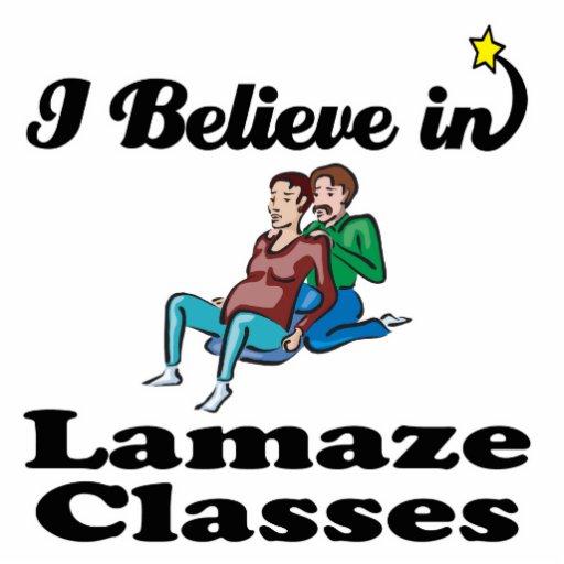 i believe in lamaze classes cut outs