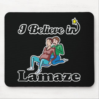 i believe in lamaze mouse pad