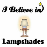 i believe in lampshades cut outs