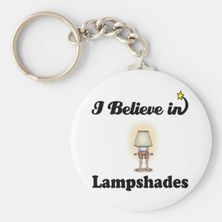 i believe in lampshades keychains