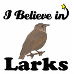 i believe in larks photo cut outs