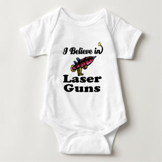 i believe in laser guns t-shirts