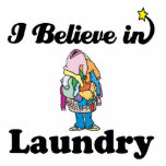 i believe in laundry photo cutouts