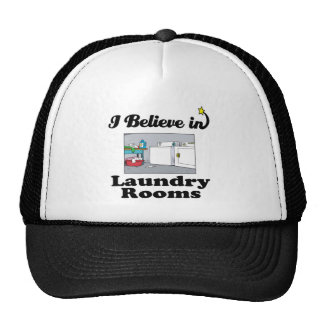 i believe in laundry rooms hats