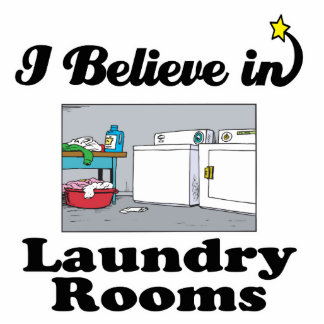 i believe in laundry rooms acrylic cut outs