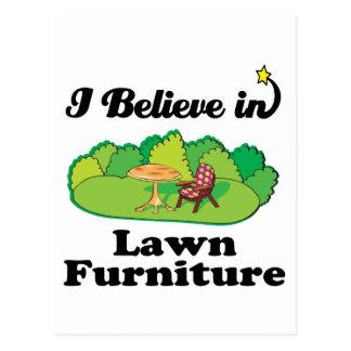 i believe in lawm furniture postcard