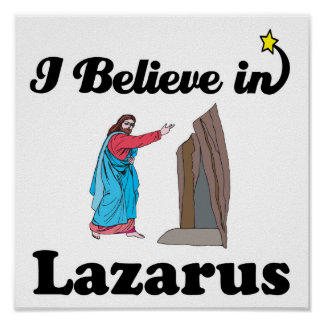 i believe in lazarus poster