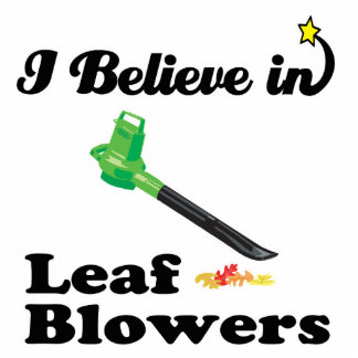 i believe in leaf blowers photo cut outs
