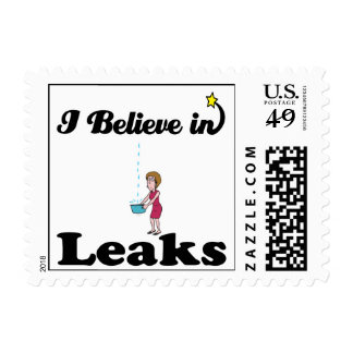 i believe in leaks postage