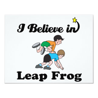 i believe in leap frog announcement