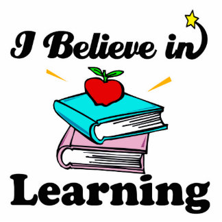 i believe in learning cut outs