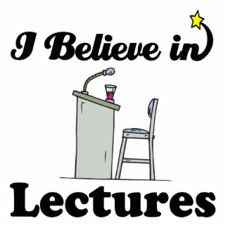 i believe in lectures photo cutouts