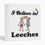 i believe in leeches vinyl binder