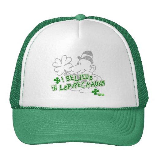 I Believe In Leprechauns Hat