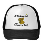 i believe in liberty bell mesh hats