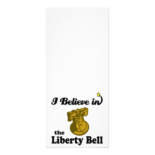 i believe in liberty bell rack card template