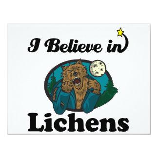 i believe in lichens custom invites