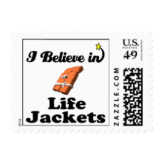 i believe in life jackets stamps