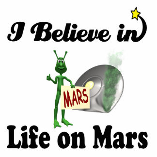 i believe in life on mars photo cut outs