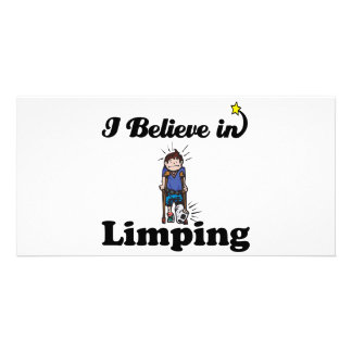 i believe in limping card
