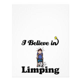 i believe in limping flyer