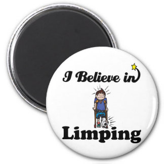 i believe in limping refrigerator magnets
