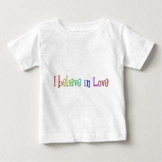 I believe in Love Baby T-Shirt