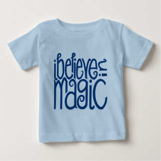 I Believe in Magic blue Infant T-shirt