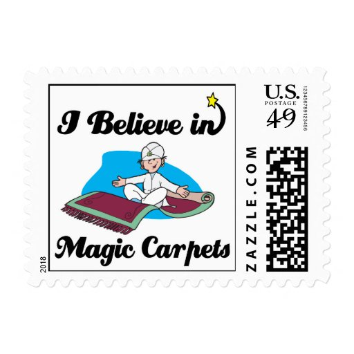 i believe in magic carpets stamps