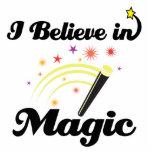 i believe in magic photo cutout
