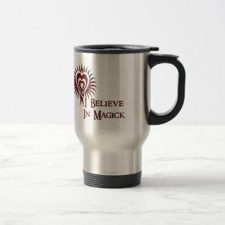 I Believe in Magick Travel Mug