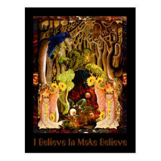 I Believe In Make Believe Postcard