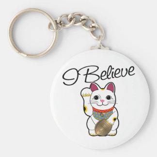 I believe in Maneki Neko Keychains